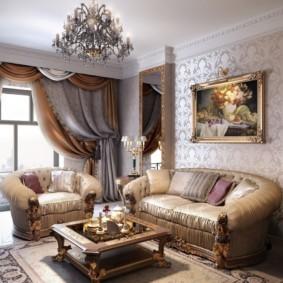 Классический стиль в интерьере квартиры