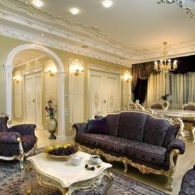 современная гостиная в квартире виды оформления