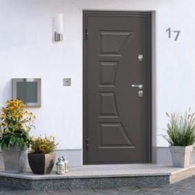 как правильно выбрать входную дверь в квартиру идеи
