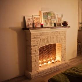 камин в интерьере квартиры идеи декор
