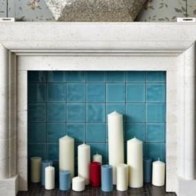 камин в интерьере квартиры фото оформление