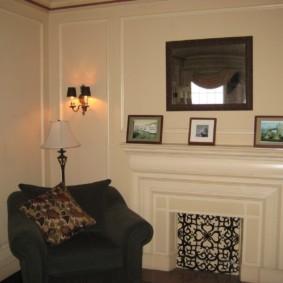 камин в интерьере квартиры фото оформления