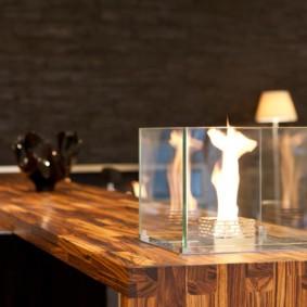 камин в интерьере квартиры фото видов