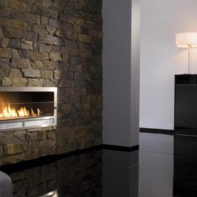 камин в интерьере квартиры варианты дизайна