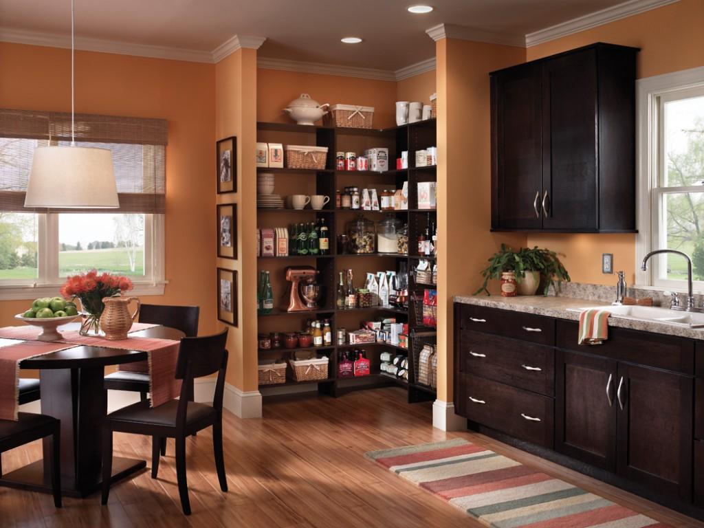 кладовка на кухне декор фото