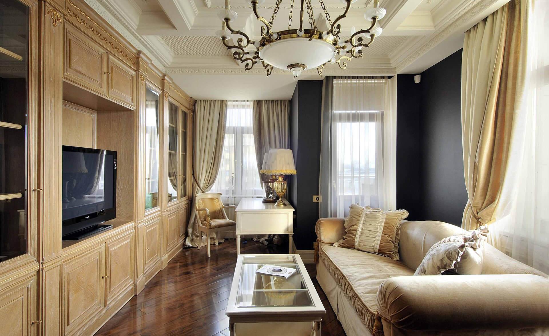 классический стиль квартиры