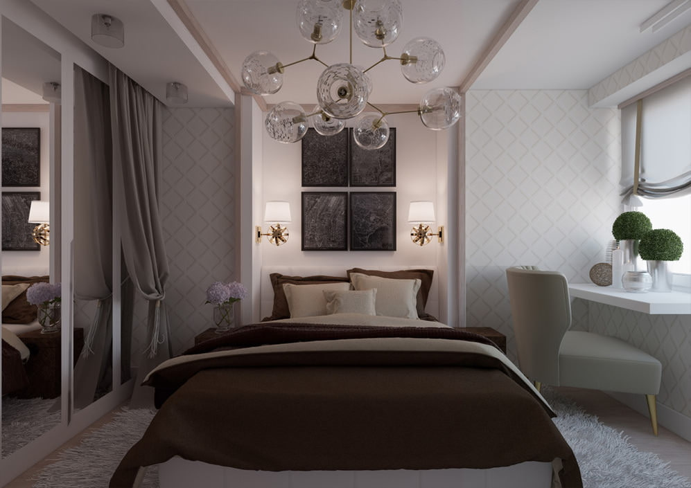 Дизайн спальни в квартире панельного дома