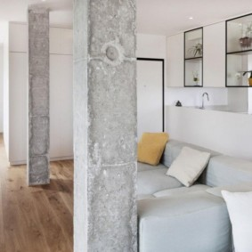 колонны в интерьере фото дизайна