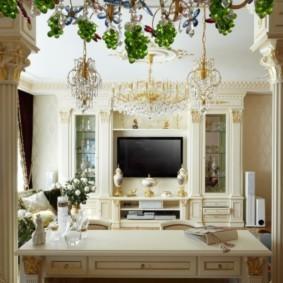 колонны в интерьере идеи декора