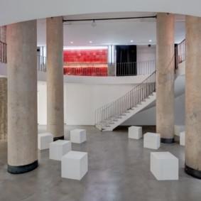 колонны в интерьере оформление идеи