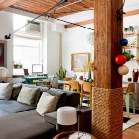 колонны в интерьере фото обзор