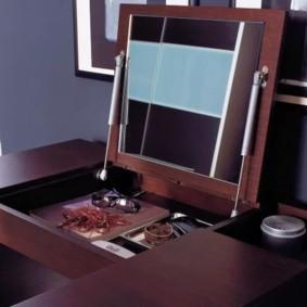 комод с зеркалом для спальни идеи виды