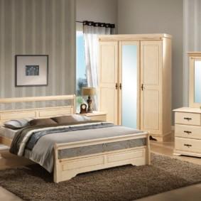 комод с зеркалом для спальни виды оформления