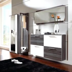 комод с зеркалом для спальни идеи декор