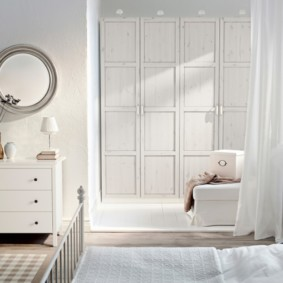 комод с зеркалом для спальни идеи интерьера