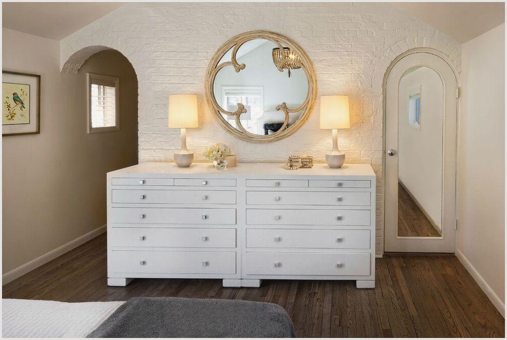 комод с зеркалом в спальню виды моделей