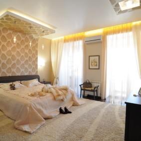 ковер в спальню в классическом оформлении