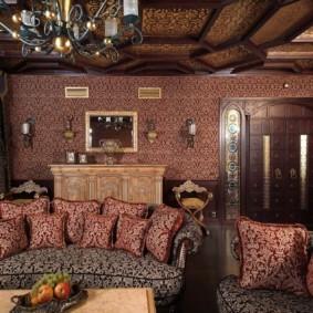 интерьер комнаты в восточном стиле идеи