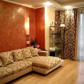 интерьер комнаты в восточном стиле идеи фото