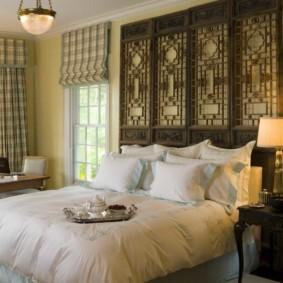 интерьер комнаты в восточном стиле дизайн