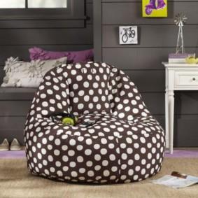 кресло пуф для детской фото декора