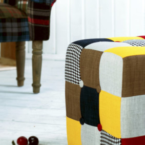 кресло пуф для детской идеи декора