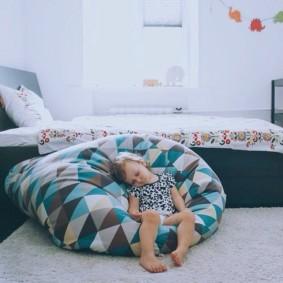 кресло пуф для детской фото оформления