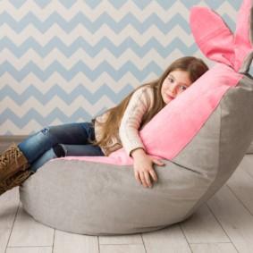 кресло пуф для детской фото идеи