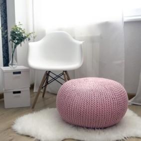 кресло пуф для детской идеи оформление