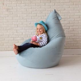 кресло пуф для детской идеи оформления
