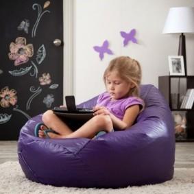 кресло пуф для детской варианты идеи