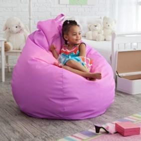 кресло пуф для детской виды