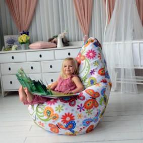 кресло пуф для детской дизайн идеи