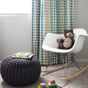 кресло пуф для детской декор