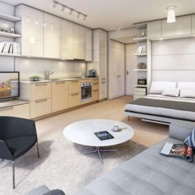 дизайн малогабаритной квартиры идеи вариантов