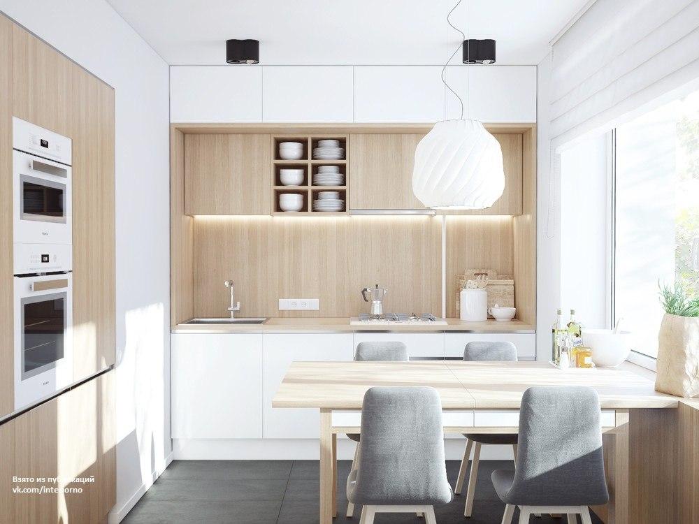 кухня для семьи с ребенком
