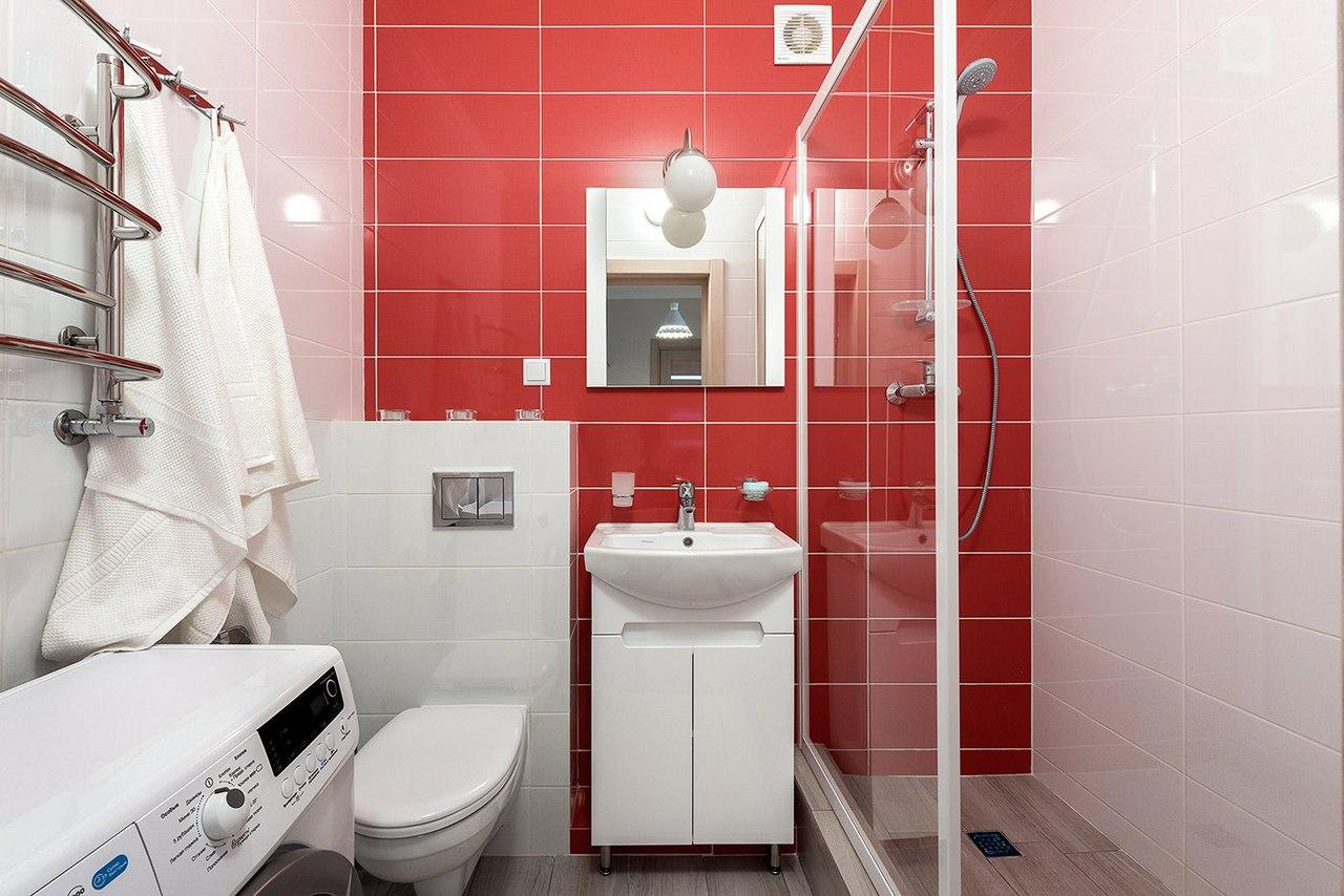 квартира площадью 35 кв м ванная