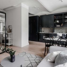 квартира студия 30 кв метров виды дизайна
