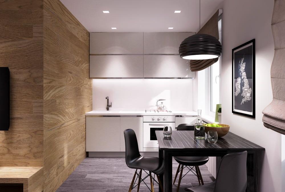 кухня в квартире студии 30 кв м