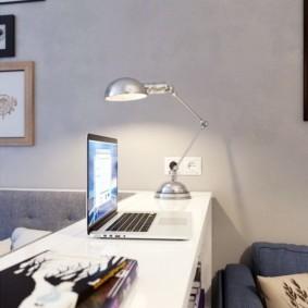 квартира студия площадью 27 кв м интерьер идеи