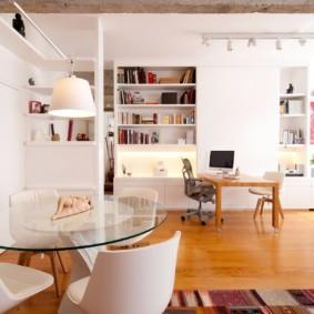 квартира студия площадью 27 кв м варианты идеи