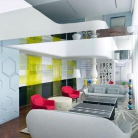 квартира студия площадью 27 кв м виды идеи