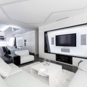 квартира студия площадью 27 кв м виды дизайна