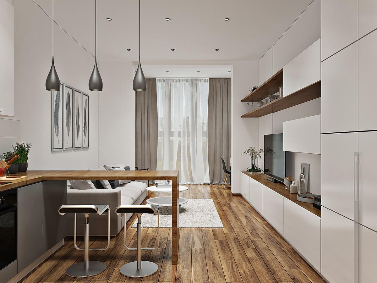 квартира студия площадью 27 кв м кухня гостиная