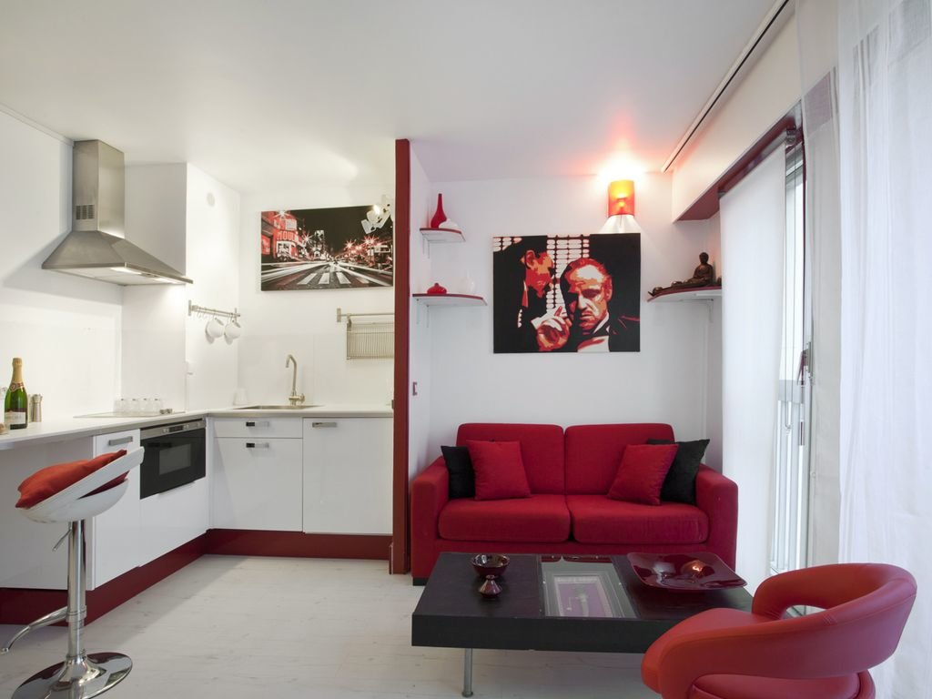 квартира студия площадью 27 кв м модерн