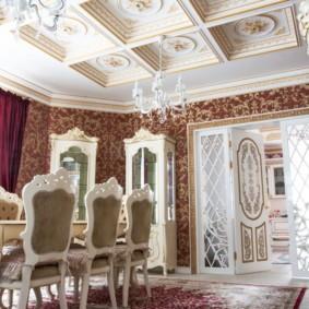 квартира в стиле барокко декор идеи