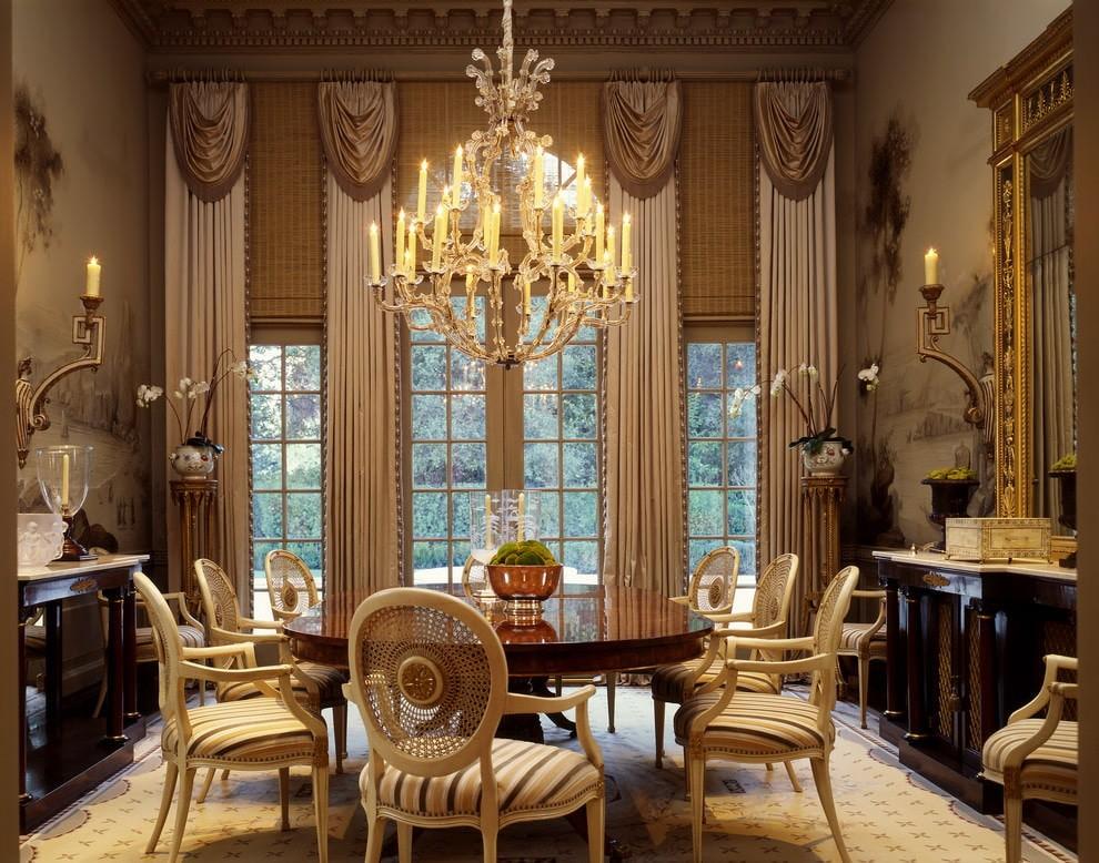 квартира в стиле барокко декор