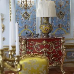 квартира в стиле барокко дизайн фото