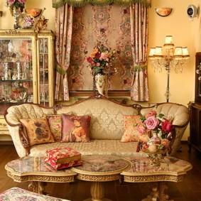 квартира в стиле барокко фото декор