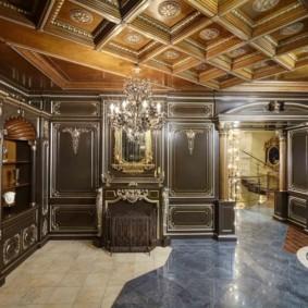 квартира в стиле барокко фото интерьера
